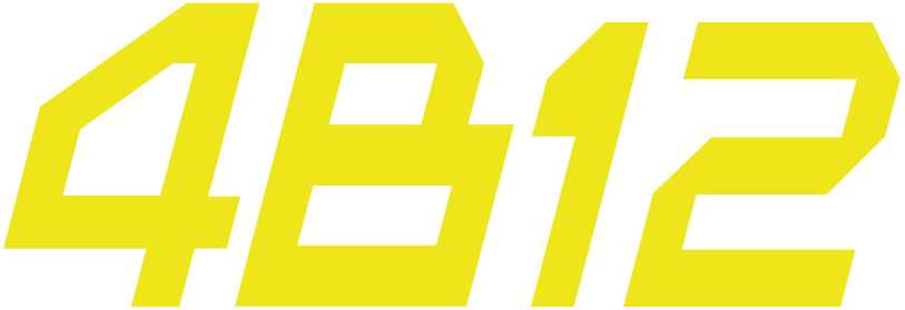 4B12 logo